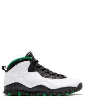 Jordan 10 Retro White / Black by Jordan
