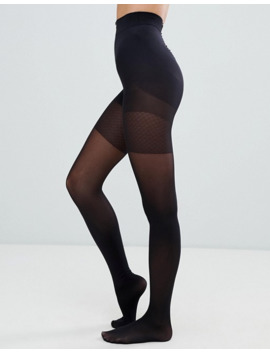 Asos Design   Collants 40 Denier Recyclé Gainant Cuisses Et Ventre by Asos Design