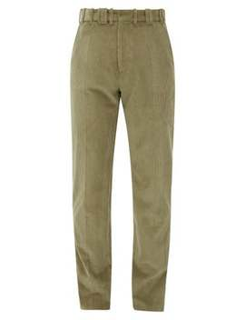 Corduroy Cotton Trousers by Y/Project