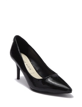 Kimery Snake Embossed Pointed Toe Pump by Anne Klein