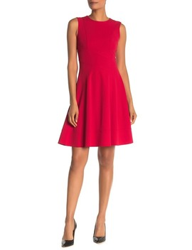 Sleeveless F It & Flare Dress by Tommy Hilfiger