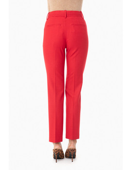 Crimson Flannel Tailored Pant by Vince