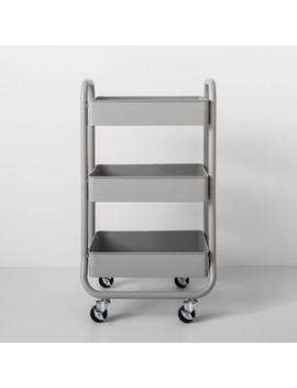 3 Tier Metal Utility Cart   Made By Design™ by Shop Collections