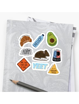 Ultimate Vine Reference Pack Sticker by Logan Kinkade