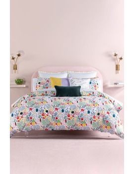 Cat In The Garden Comforter & Sham Set by Kate Spade New York