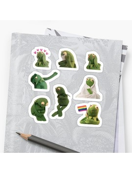 Kermit Sticker Pack Sticker by Tiny Rocket