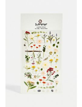 Suatelier   Autocollants Tiges De Fleurs by Suatelier