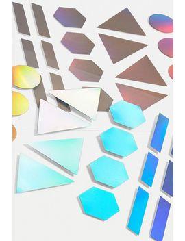 Suatelier   Autocollants Géométriques Effet Hologramme by Suatelier