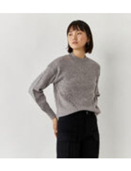 Curved Hem Cosy Jumper by Warehouse