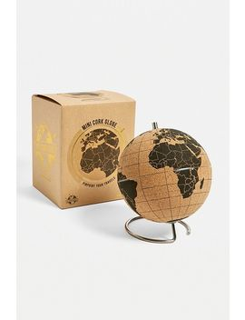 Mini Globe En Liège by Urban Outfitters