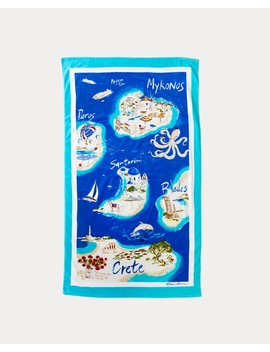 Greek Islands Beach Towel by Ralph Lauren
