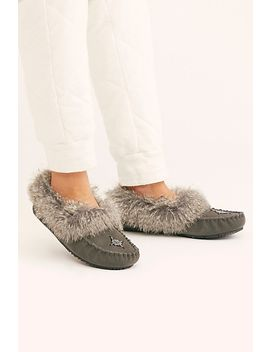 Faux Fur Street Moccasin by Manitobah