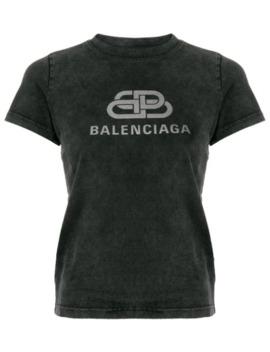 Bb Balenciaga Logo T Shirt by Balenciaga