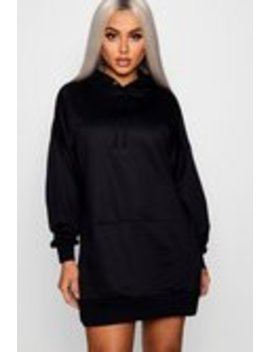 The Perfect Oversized Hooded Sweat Dress The Perfect Oversized Hooded Sweat Dress by Boohoo