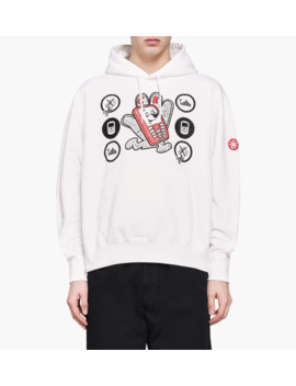 Hand Mobile Heavy Hoodie by Cav Empt