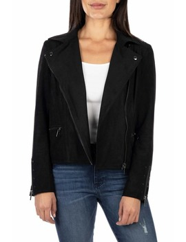 Faux Suede Eveline Jacket by Kut From The Kloth