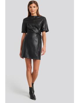 Soft Pu Mini Dress Black by Na Kd Party
