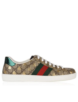 New Ace Bee Gg Trainers by Gucci