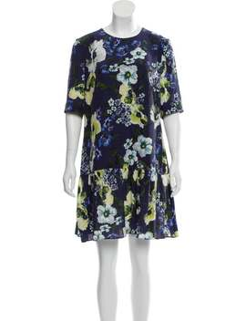 Floral Silk Dress by Erdem