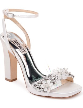 Badgley Mischka Alexa Ankle Strap Sandal by Badgley Mischka Collection