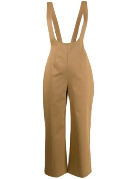 Cropped Dungaree Jumpsuit by Alexa Chung