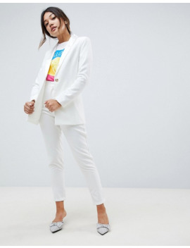 Amy Lynn Tailored Blazer With Satin Lepel by Asos