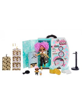 L.O.L. Surprise! O.M.G. Winter Disco 24 K D.J. Fashion Doll And Sister by Smyths