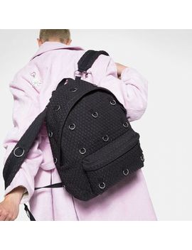 Raf Simons Padded Loop Black Matlasse by Eastpak