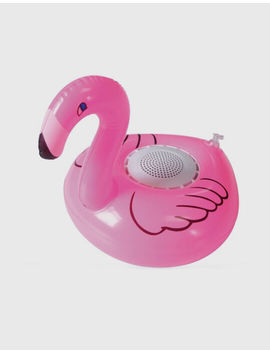 Gabba Goods Inflatable Flamingo Floating Bluetooth Speaker by Gabba Goods