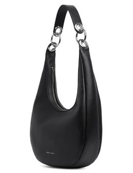 Items Textured Leather Hobo Bag by Rebecca Minkoff