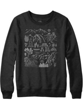 Parks Project   Iconic Nartional Parks Crew Sweatshirt   Men's by Rei