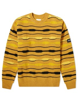 Napa By Martine Rose Stripe Crew Knit by Napa By Martine Rose