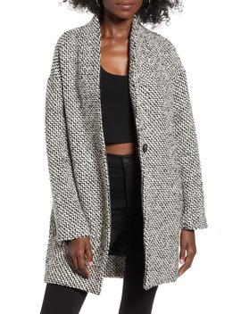 Say Anything Tweed Coat by Blanknyc