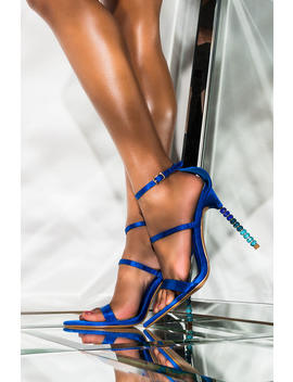 It Is A Love Story Stiletto Sandal by Akira