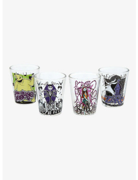 Disney The Nightmare Before Christmas Mini Glass Set by Box Lunch