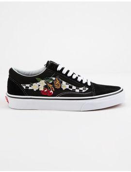 Vans Checker Floral Old Skool Womens Shoes by Vans