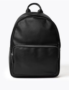 Saffiano Backpack by Marks & Spencer