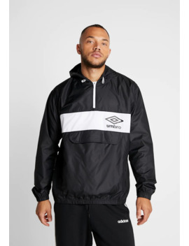 Panelled 1/2 Zip   Windjack by Umbro