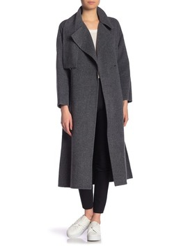 Waist Belt Cozy Coat by Vince