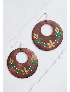 Earthy Of Praise Dangle Earrings by Modcloth