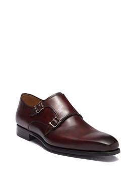 Ramola Double Strap Monk Shoe (Men) by Magnanni