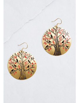 Out On A Limb Dangle Earrings by Mata Traders