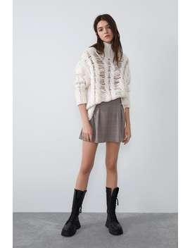 Darted Mini Skirt by Zara