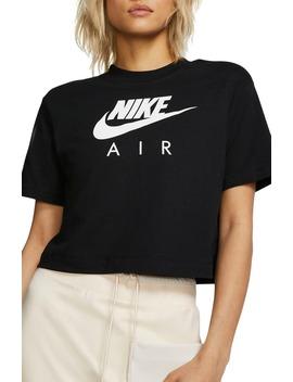 Sportswear Logo Crop Organic Cotton Tee by Nike