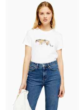 Tall Walking Tiger T Shirt by Topshop
