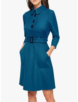 Damsel In A Dress Adie Button Detail Dress, Teal by Damsel In A Dress