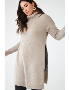 Plus Size Turtleneck Tunic by Forever 21
