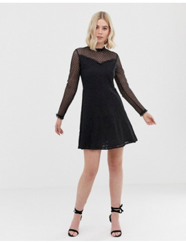 New Look   Robe Patineuse En Plumetis by Robe