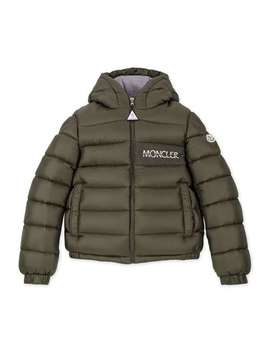 Aiton Down Jacket   Khaki by Moncler Enfant