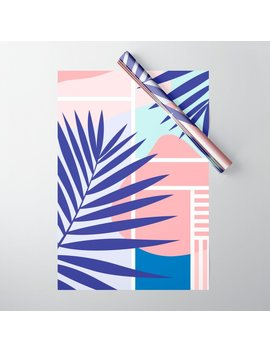 Memphis Mood Wrapping Paper by Society6